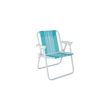 Cadeira de Praia Infantil Azul Mor
