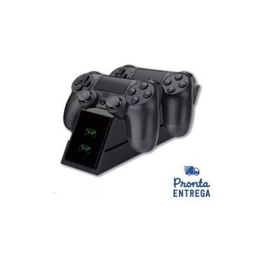Base Carregador Duplo Dock Charge Controle Ps4 Kingo Kg119