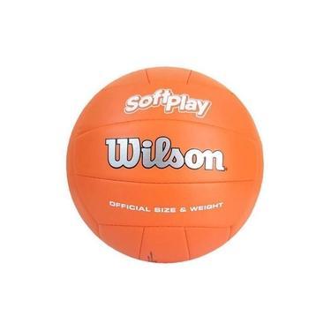 Bola De Vôlei Soft Play Laranja - Wilson