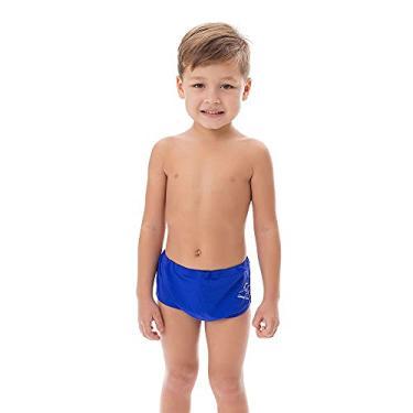 Sunga Infantil com Desenho Bordado na Lateral Várias Cores