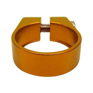 Abraçadeira de Selim Cly Components 31.8mm em Alumínio - Dourado