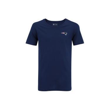 Camiseta New Era New England Patriots Mini Logo - Masculina - AZUL ESCURO New  Era 35c68463eb74b