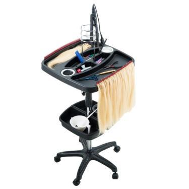 Carrinho Auxiliar Mega Hair Mechas Para Cabeleireiro Dompel
