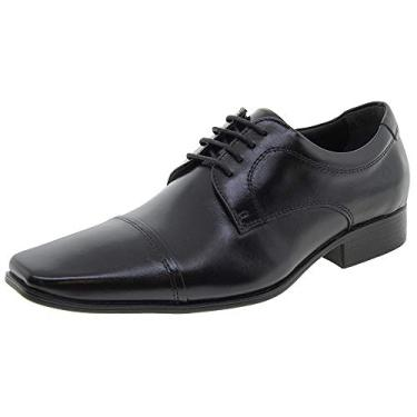 Sapato Social Democrata 450052 - Preto