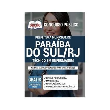 Imagem de Apostila Prefeitura Paraíba Do Sul Rj Técnico Em Enfermagem