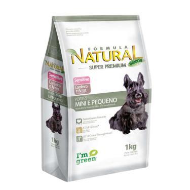 Ração Fórmula Natural Sensitive Cães Raças Mini e Pequena - 7 Kg