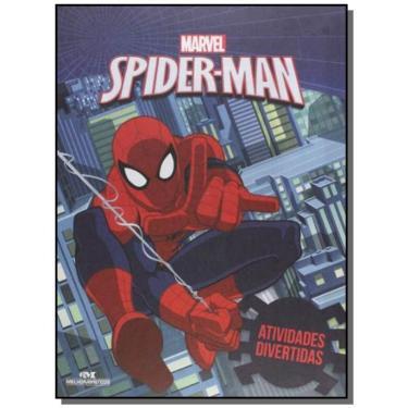 Marvel Spider-Man - Coleção Atividades Divertidas - Vários Autores - 9788506077184