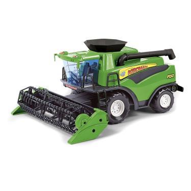 Imagem de Brinquedo Infantil Colheitadeira Fazendeiro - Poliplac Verde