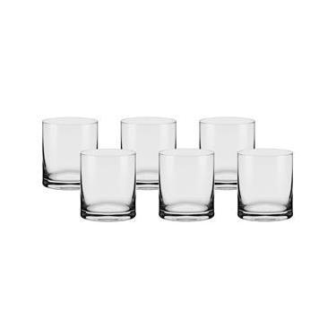 Conjunto de Copos On The Rocks Oxford Alumina Crystal Flat Classic 390 ml –  6 Peças d0edcb42776ea