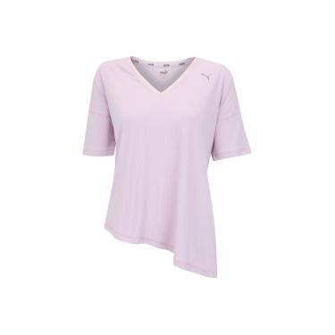 ccb700253c Camiseta Puma Explosive Ribbed - Feminina - ROSA Puma