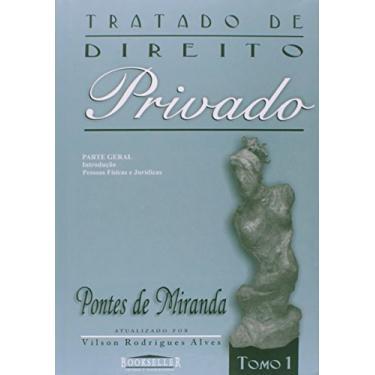 Tratado de Direito Privado - Tomo 1 - Miranda, Pontes De - 9788574680088