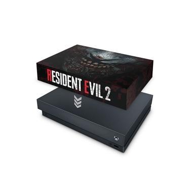 Capa Anti Poeira para Xbox One X - Resident Evil 2 Remake