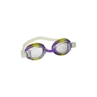 a21fcd810 Oculos De Mergulho Split Roxo E Amarelo