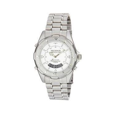 Relógio de Pulso Masculino Technos Alarme   Joalheria   Comparar ... d30015a92c