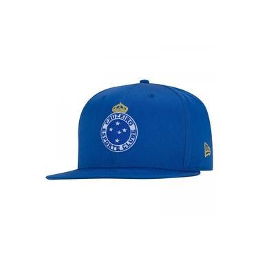 Boné Aba Reta do Cruzeiro New Era 950 - Snapback - Adulto