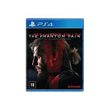 Game Metal Gear Solid V: The Phantom Pain - PS4