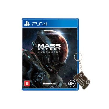 Game Mass Effect Andromeda + Chaveiro Exclusivo - Ps4