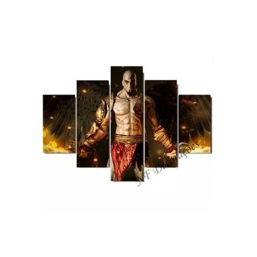 Quadro Kratos God Of War Video Game Ps2 Ps3 Ps4 06mmmdf