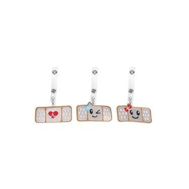 3Pcs 360 Degree Rotating Badge Reel Bow Heart-Shape Retractable Employee Card Badge Clip