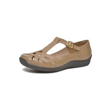 Sandália Feminina Boneca Touro Boots Taupe