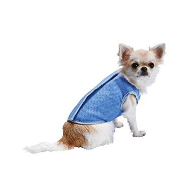 Colete Gelado Azul Jambo Pet - Tamanho P
