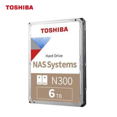 Toshiba n300 6tb nas 3.5-Polegada disco rígido interno-cmr sata 6 gb/s 7200 rpm 256 mb cache para pc
