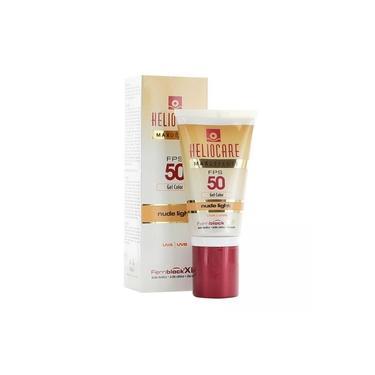 Protetor Solar Facial Heliocare Max Defense FPS 50 Nude Light 50g Gel Creme