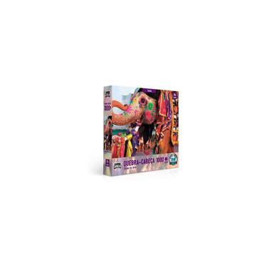 Imagem de Quebra-cabeça 1000 Peças Cores Da Ásia - Índia Game Office