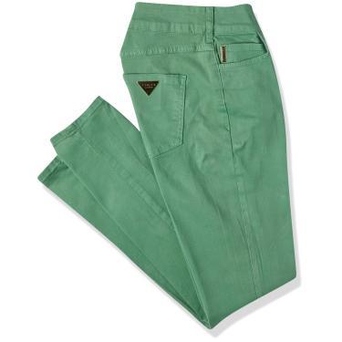 Colcci Calça Cory outras cores, 36, Verde Miller