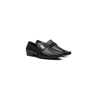 Sapato Mocassim Youth Fly Preta 710200 Tamanho De Calçado Adulto:42