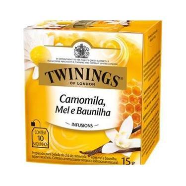 Twinings Of London Camomila Mel E Baunilha 15G - 10 Sacos