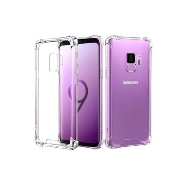 Capa Anti Shock Galaxy S9 Plus e Pelicula de Vidro Curva