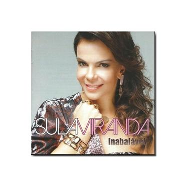 Cd Sula Miranda - Inabalável