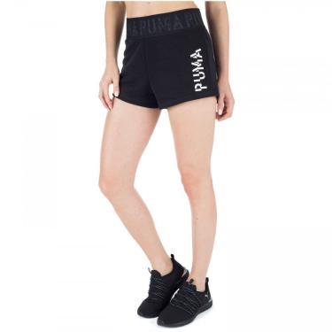 Shorts Puma Logo 3 - Feminino Puma Feminino