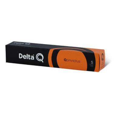 Café Delta Q Qonvictus Intensidade 5 - Caixa 10 Cápsulas