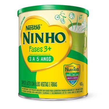 Composto Lácteo Ninho Fases 3+ com 400g 400g