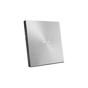 Drive ASUS Gravador Externo CD, DVD, ZenDrive U9M, Ultra-Slim, 1 tipo C+ 1 tipo A, Windows e MAC, Nero BackItUp - SDRW-08U9M-U/SIL/G/AS