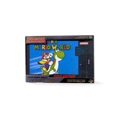 Luminaria Nintendo - Super Mario World