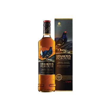 Whisky The Famous Grouse Smoky Black 750ml