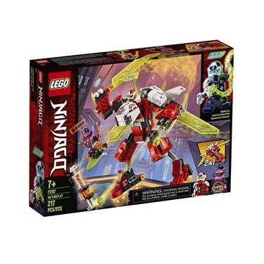 Lego Ninjago O Jato Robo Do Kai 217 Peças