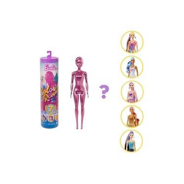 Imagem de Boneca Barbie Fashionista Estilo Surpresa - Color Reveal - Série Glitter - Mattel