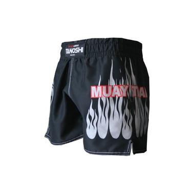 Shorts MuayThai Fire TANOSHI Prata