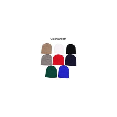 Curto listrado fino Cap pulôver Hat Ski Cap macia e quente Hat exterior Cap LZ109-HA