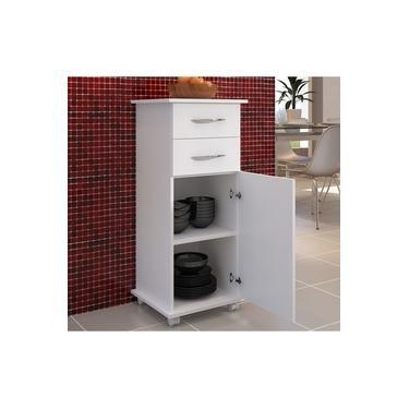 Imagem de Armário Organizador Multiuso Cozinha 2 Gavetas 1 Porta