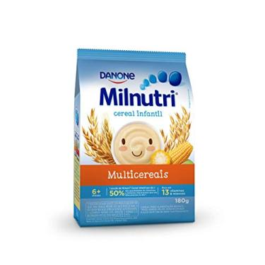 Cereal Infantil Milnutri Multicereais Danone Nutricia 180g