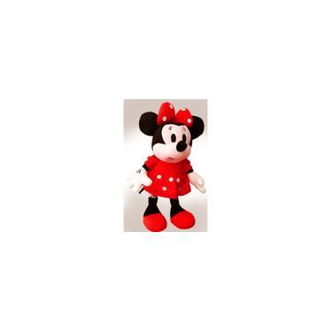 Imagem de 1 Boneca De Pelúcia Minnie Laço Vermelha Musical tamanho 28cm