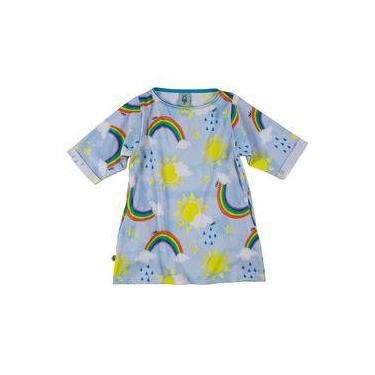 Vestido Infantil Céu Azul Wool Kids
