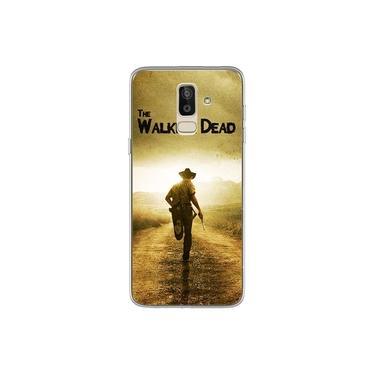 Capa para Galaxy J8 - The Walking Dead   Rick