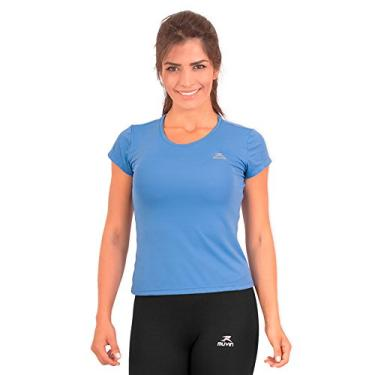 Camiseta Running Performance G1 Uv50 Ss Muvin Csr-200 - Azul - G