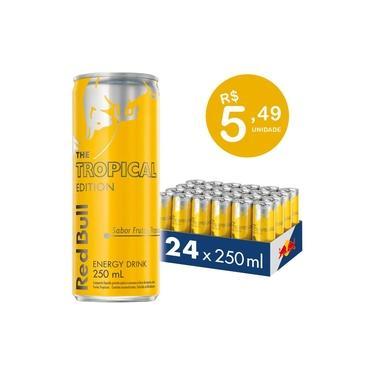 Energético Red Bull Energy Drink, Tropical, 250 ml (24 latas)